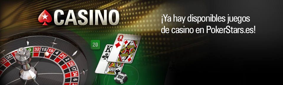Pokerstars, ruleta y Blackjack